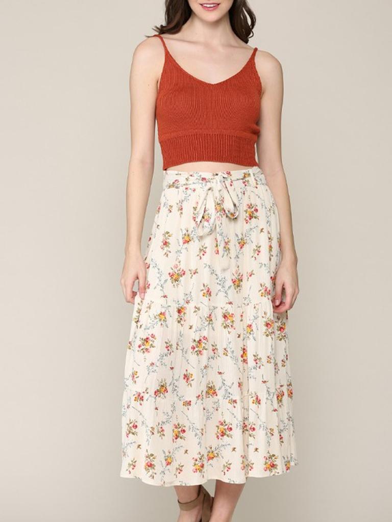 GCBLove Summer Frolic Floral Skirt