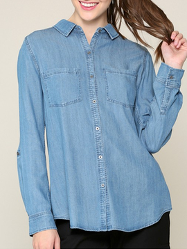 Be Cool Cute and Casual Jean Top