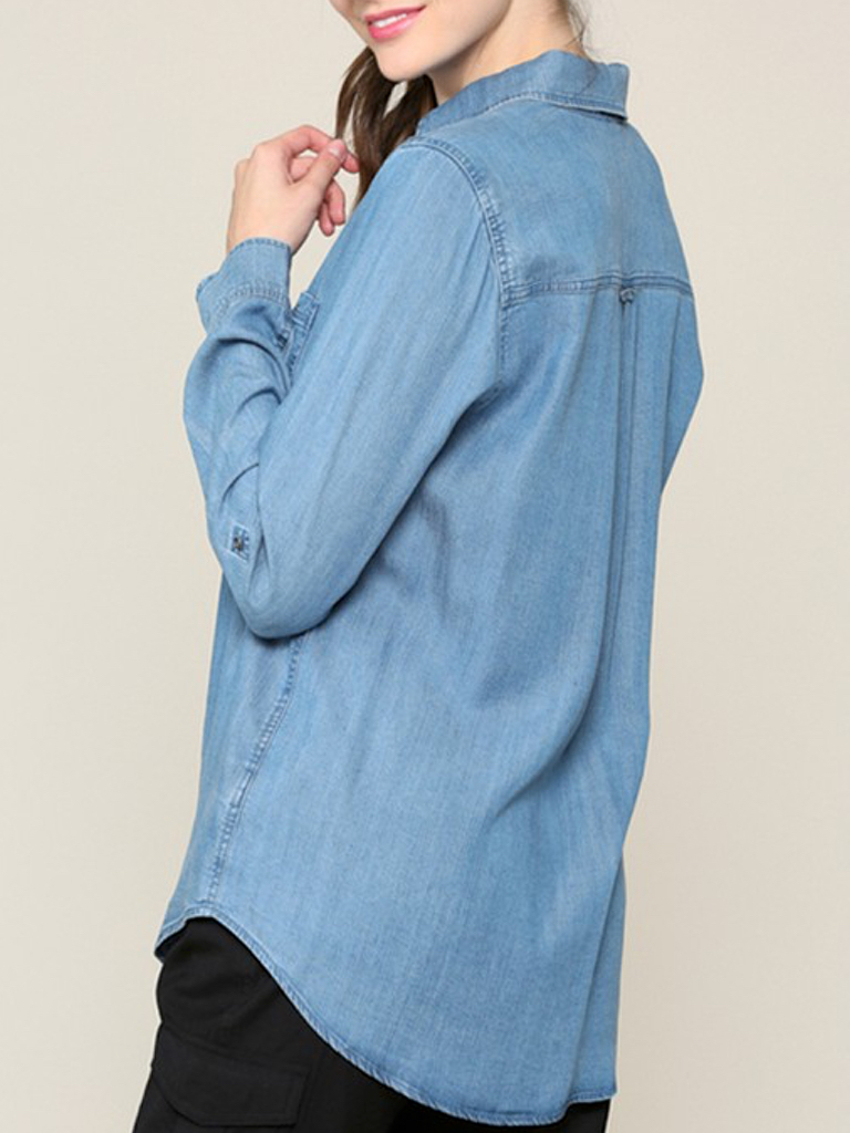Cute and Casual Jean Top