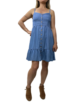 Babydoll Tencil Dress