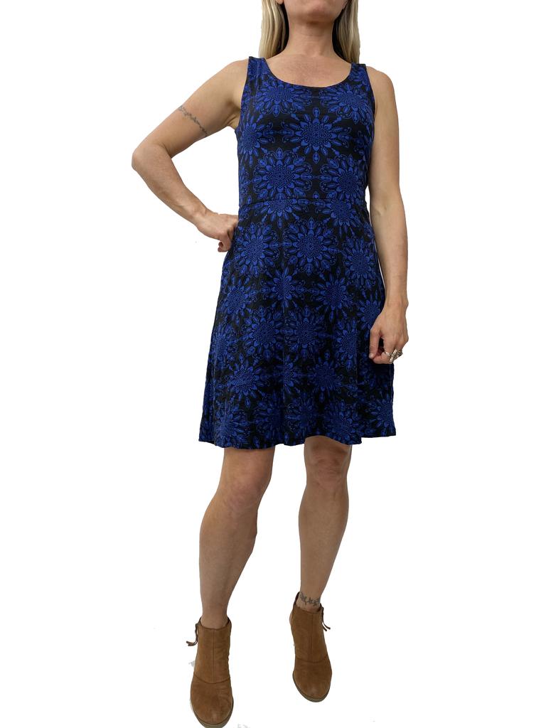 Zahara X-Back Dress, Star Crossed