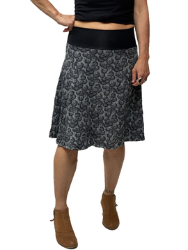 Zahara Band Skirt, Little Florets
