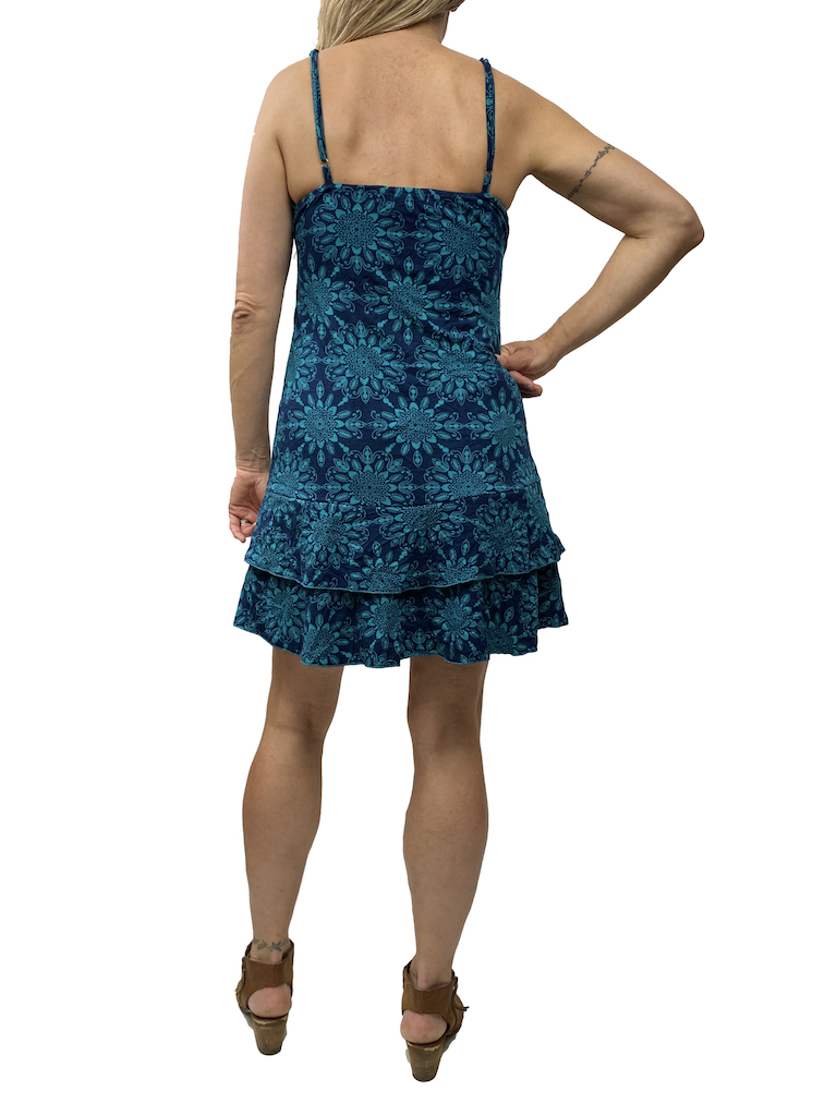 Zahara Ruffle Dress, Star Crossed