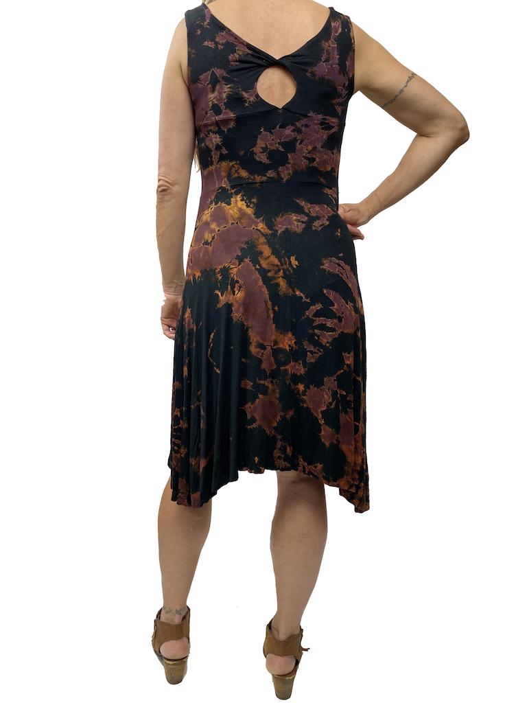 Khun Khai Twist Dye Midi Dress