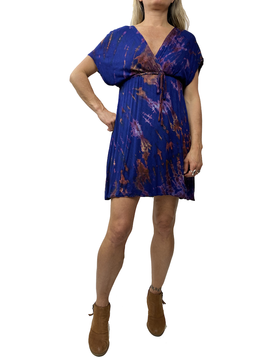 Twist Dye Kimono Dress