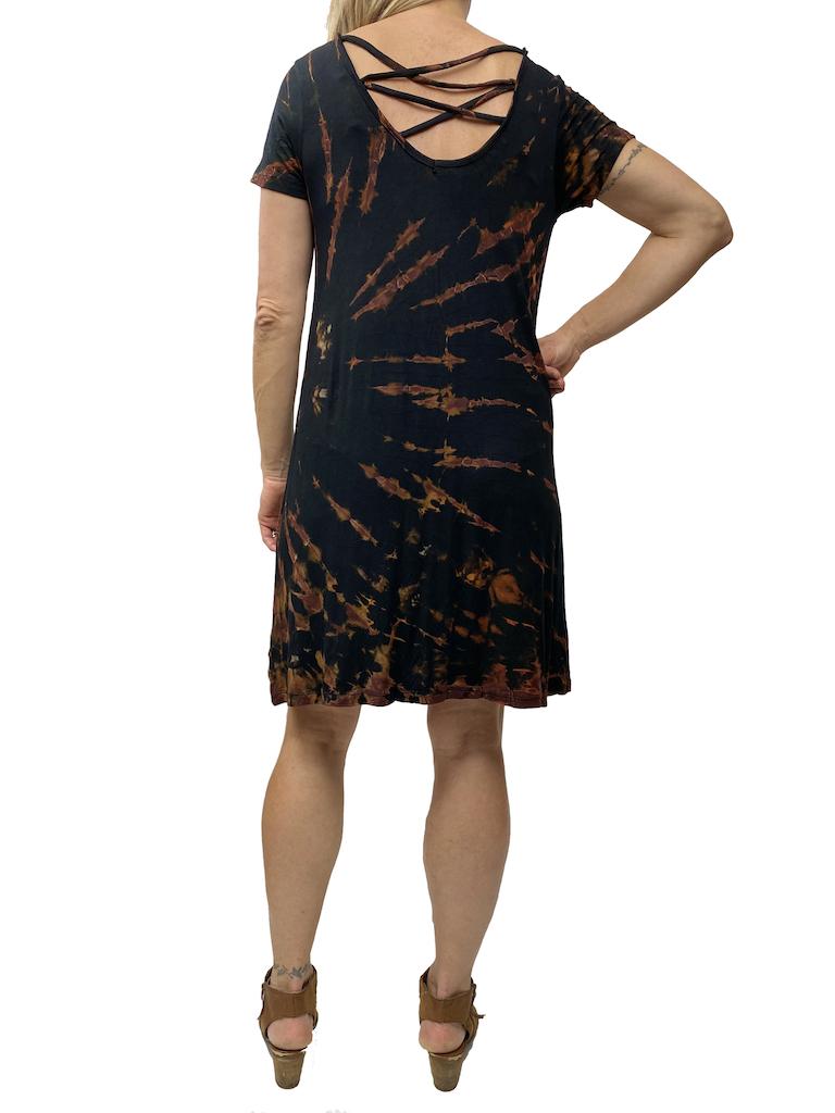Zahara Tie Dye Tee Dress