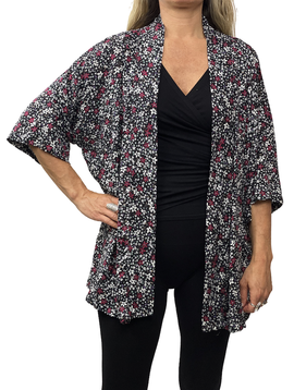 Zahara Culture Cardigan, Flower Fields