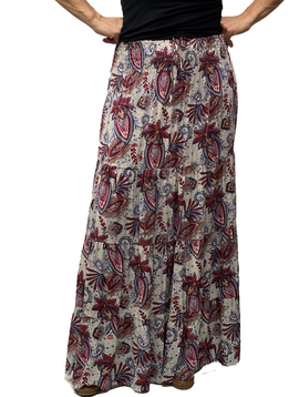 Zahara Meadow Skirt, Wild Garden