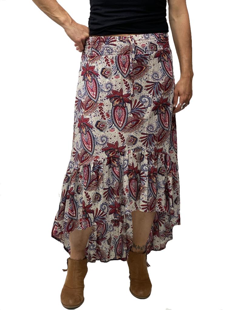 Zahara Barbados Skirt, Wild Garden