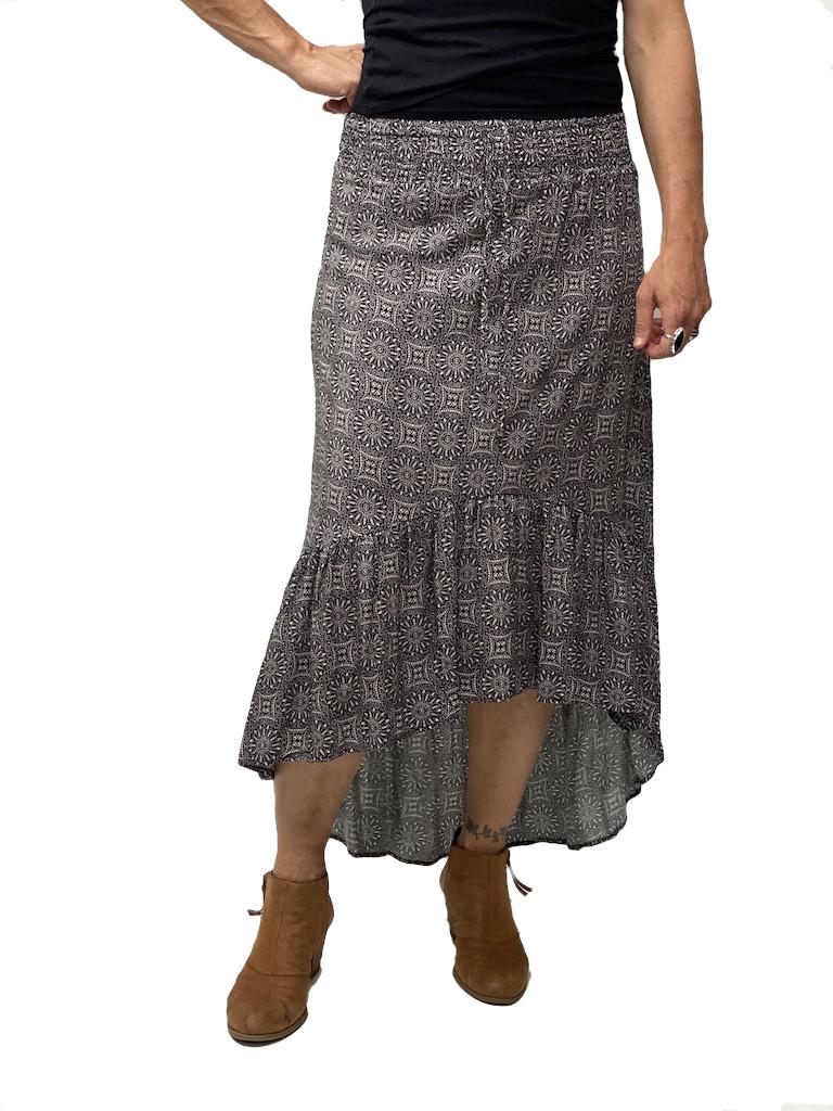 Zahara Barbados Skirt, Eclipse