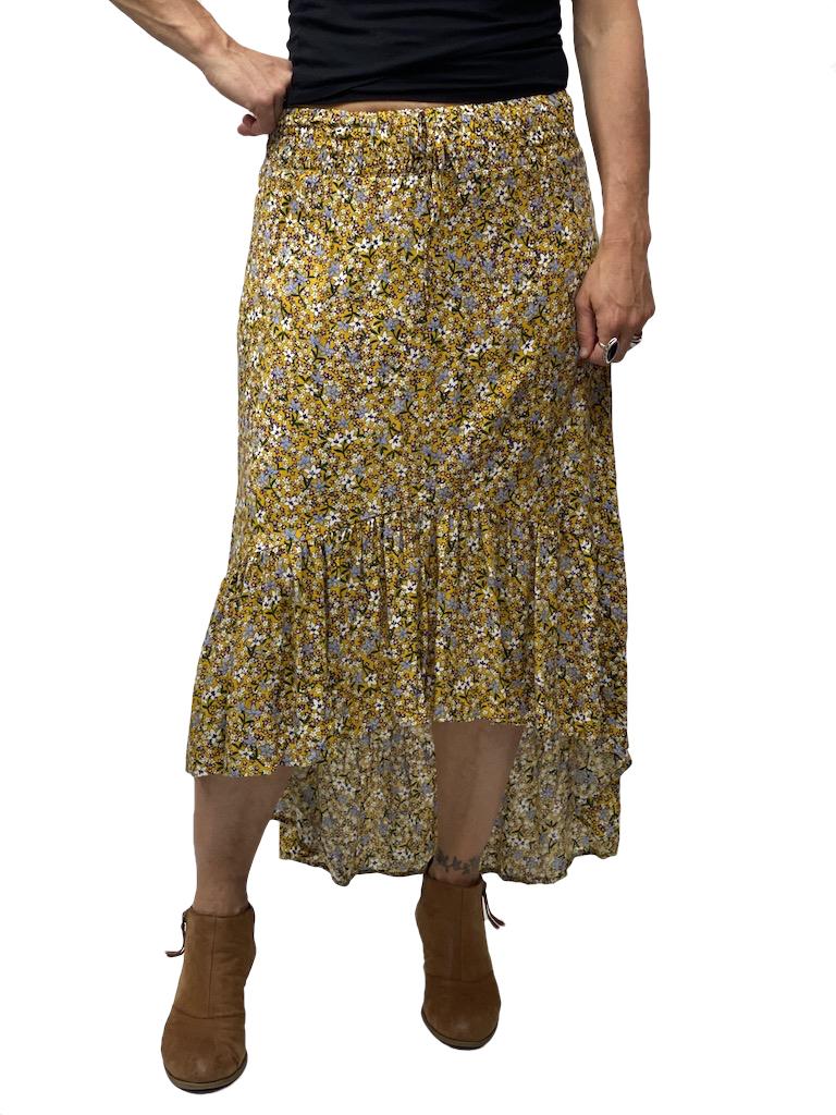 Zahara Barbados Skirt, Flower Fields