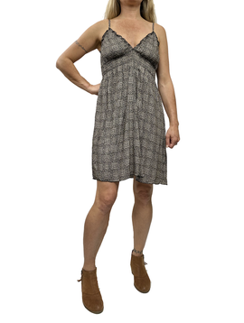 Zahara Whimsical Short Dress, Eclipse