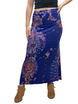Zahara Tie Dye Maxi Skirt