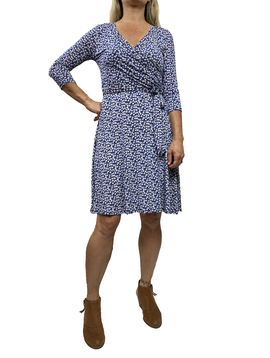GCBLove Printed Wrap Dress