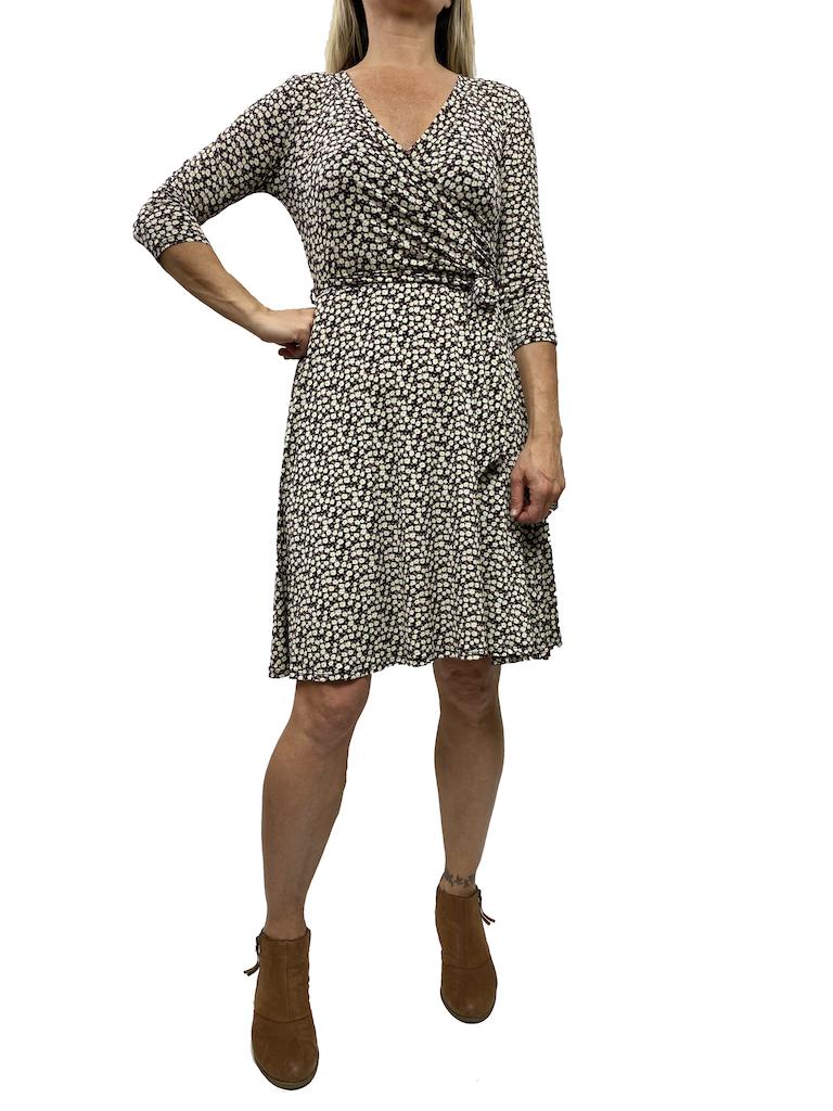 GCBLove Printed Wrap Dress