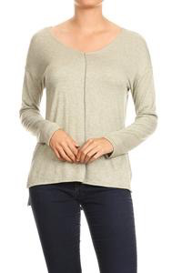 GCBLove Spring Split V Sweater
