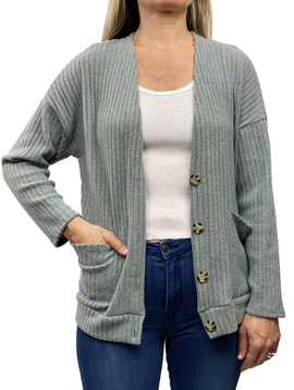 GCBLove Dapper Ribbed Cardigan