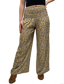 Zahara Mexicali Pants, Flower Fields