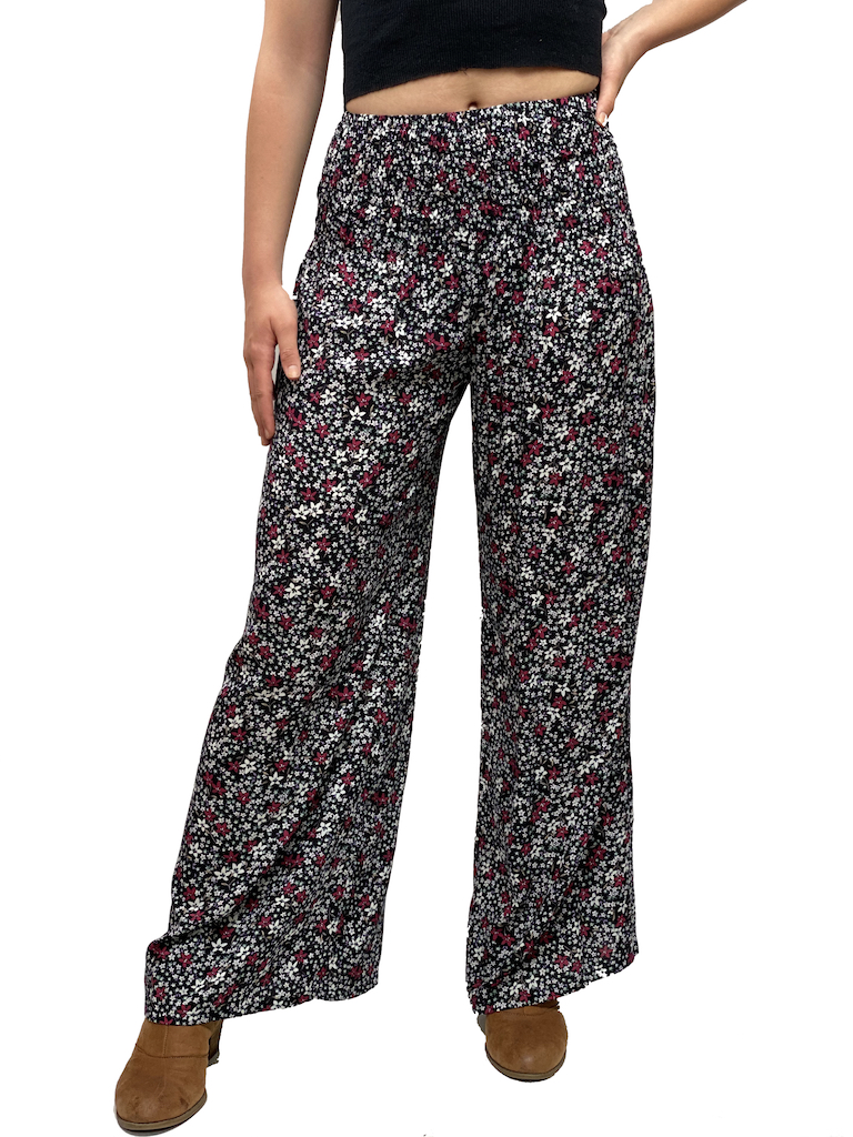 Zahara Mexicali Pants, Flower Fields