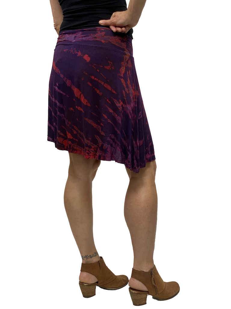 Zahara Tie Dye Band Skirt