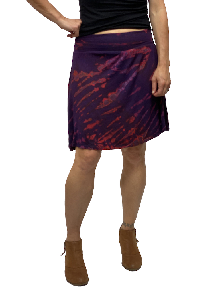 Zahara Tie Dye Band Skirt