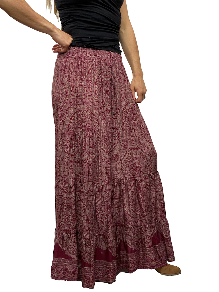 Zahara Meadow Skirt, India Dreams