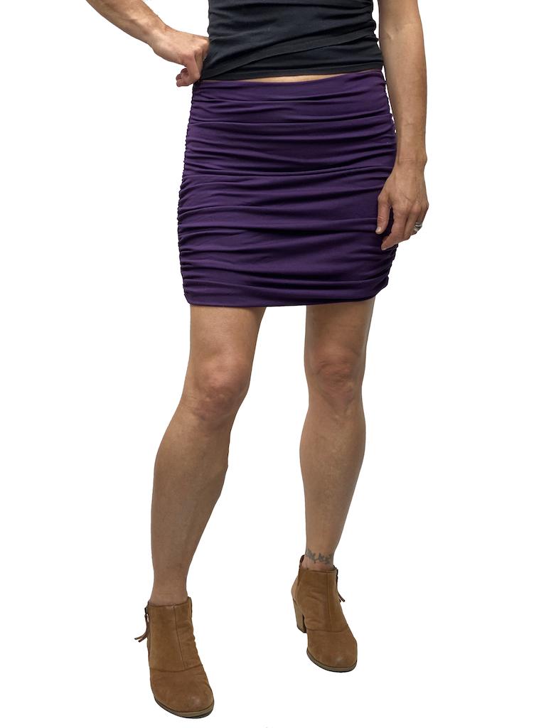 Gypsy Chic Bayla Skirt-Thick Lycra