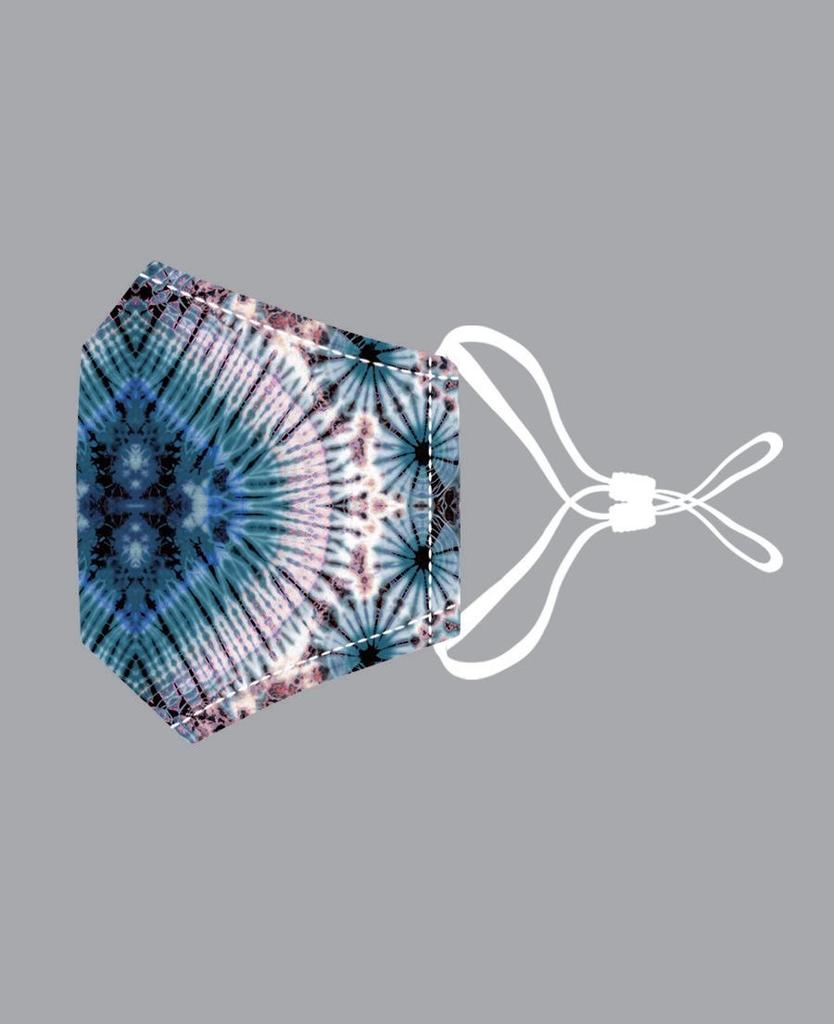 JC Sunny Peacock Tie Dye Cotton Mask