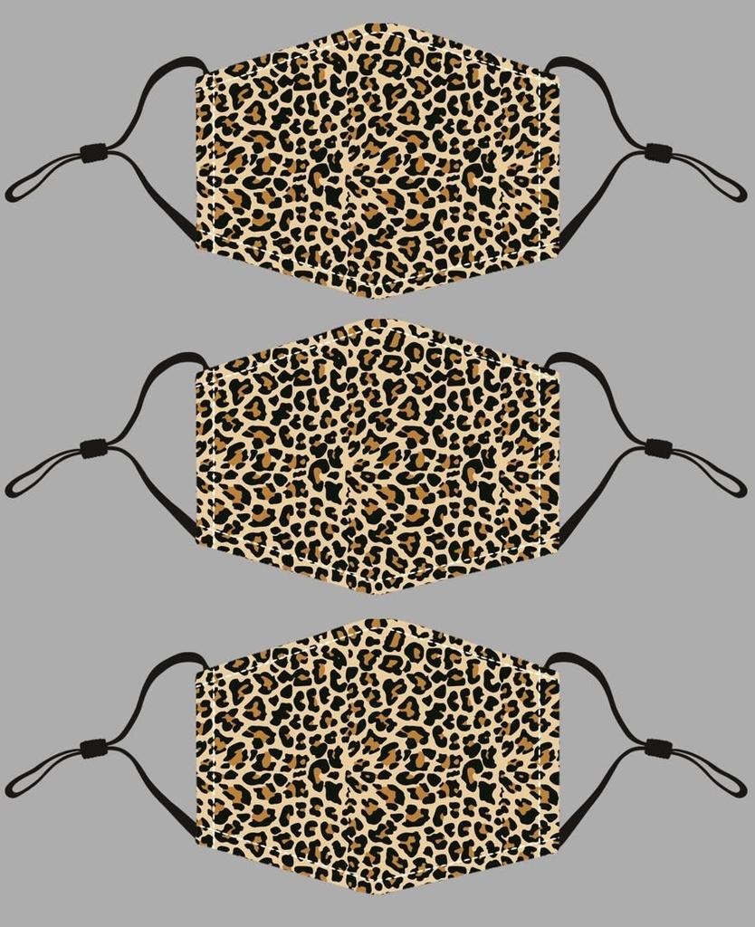 JC Sunny Leopard Cotton Mask