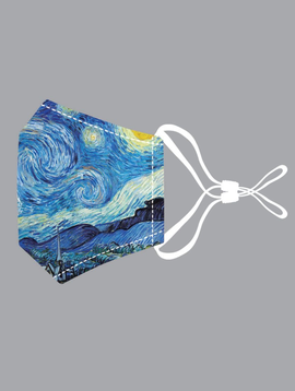 JC Sunny Starry Night #2 Cotton Mask