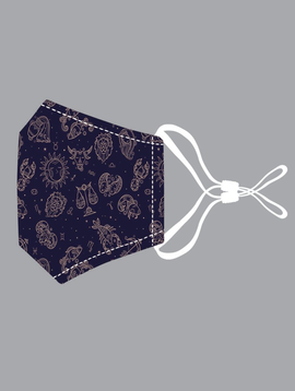Star Signs Cotton Mask