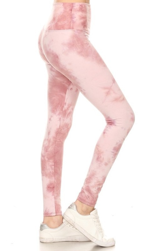 Red Ribbon Pretty in Pink Legging