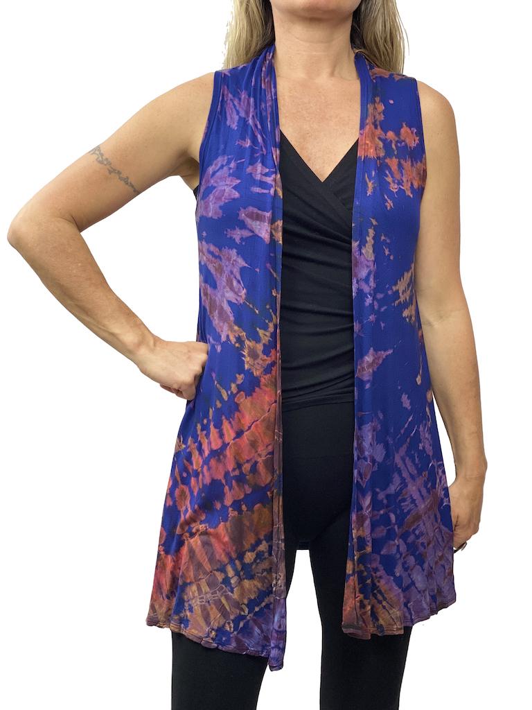 Zahara Tie Dye Duster