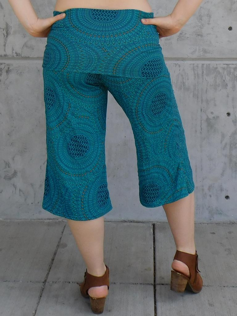 Gypsy Chic Mid Skirt Pant, Mandala
