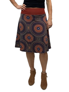 Zahara Band Skirt, Mystic Circles