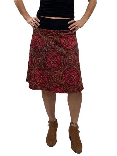 Zahara Band Skirt, Mystic Circles