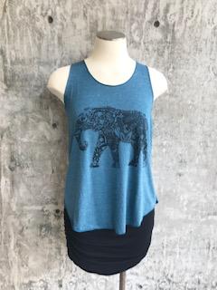 Zahara Elephant Mandala Tank