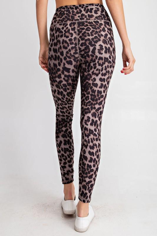 RaeMode Brown Leopard Leggings