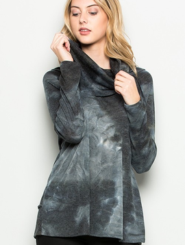 Eye of Storm Funnel Neck Top