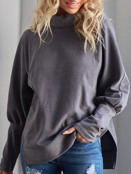Lounge Funnel Neck Sweatshirt