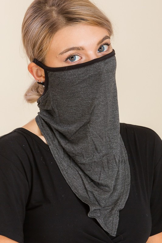 Solid Breathable Face Cover