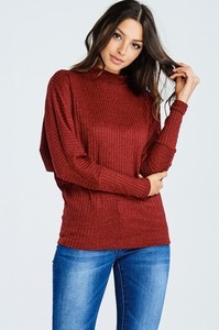 Fashion Dist LA Sienna Knit Ribbed Top