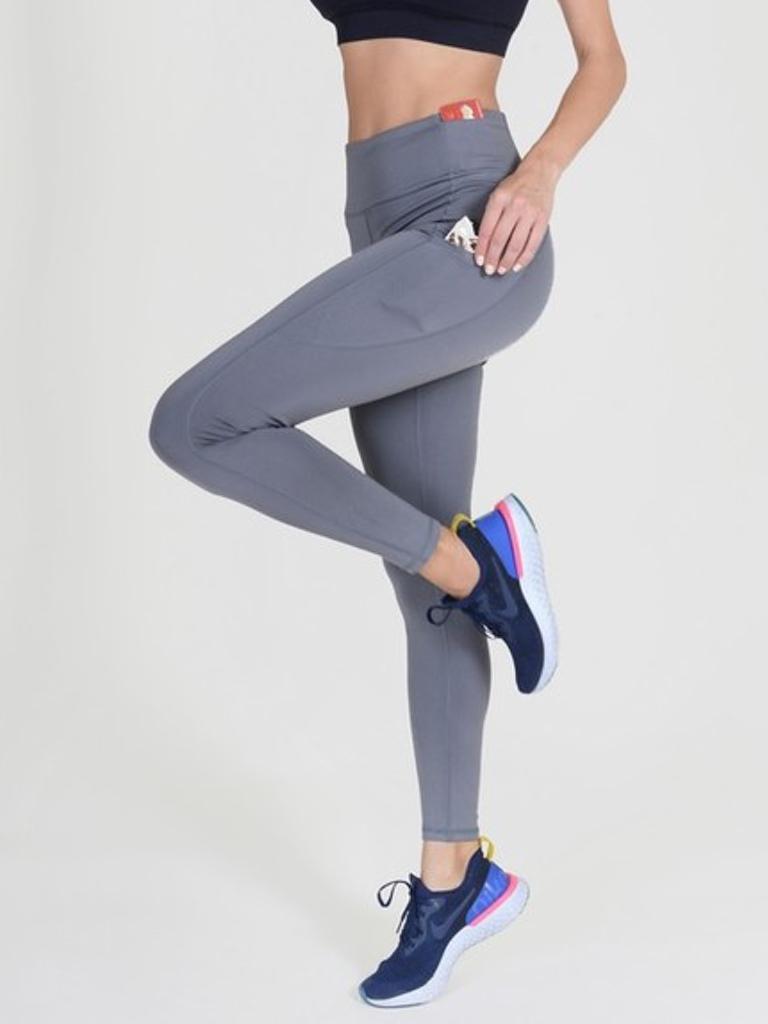Yelete Active Sport 5 Pocket Charcoal  Legging