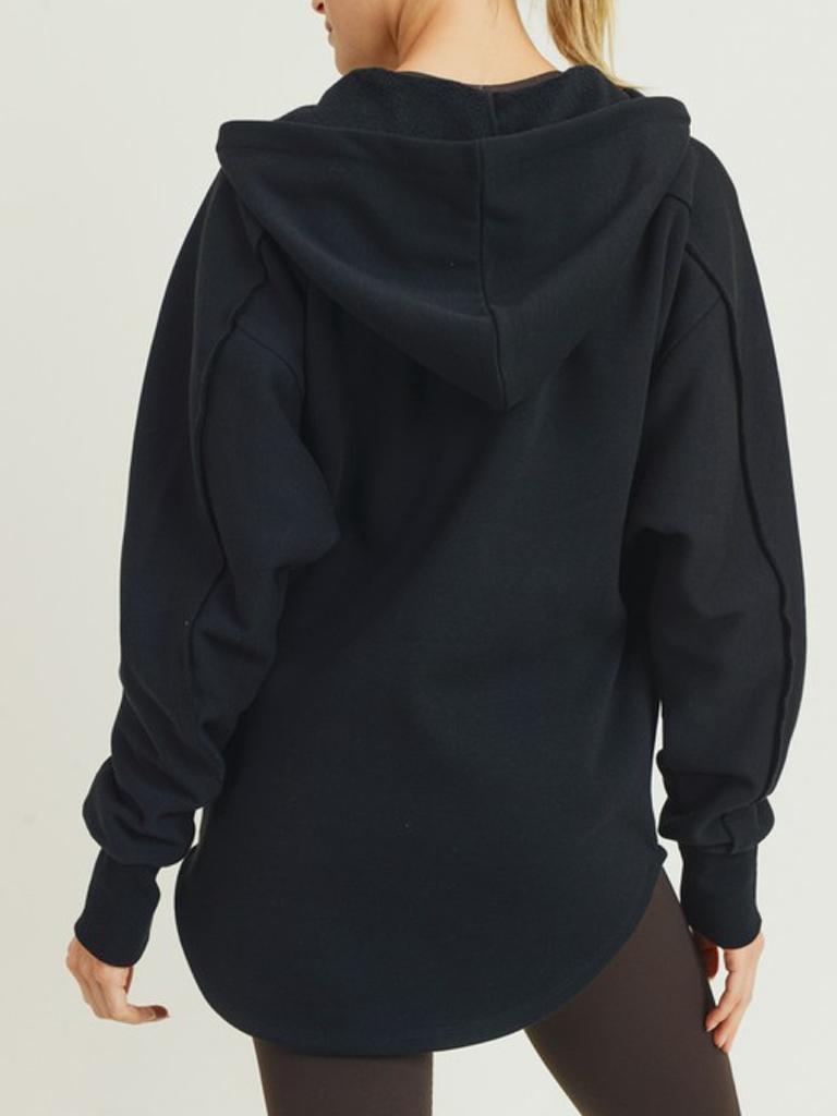 Mono B Seaside Black Hoodie