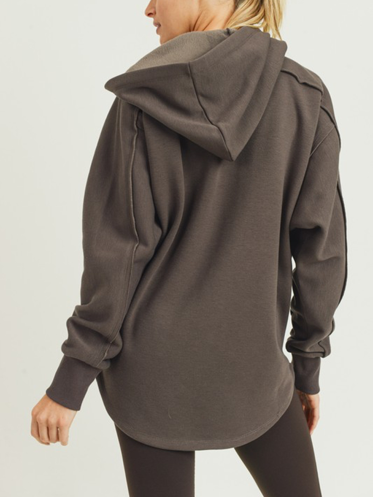 Mono B Seaside Coffee Hoodie