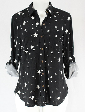 Clothing of America Stars Ranch Top