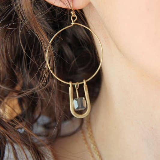 BOPS Crystal Dangle Earring