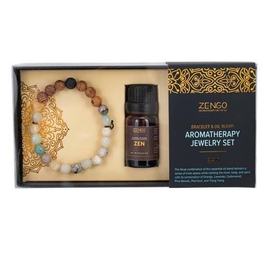 BOPS Aromotherapy Amazonite Zen Set