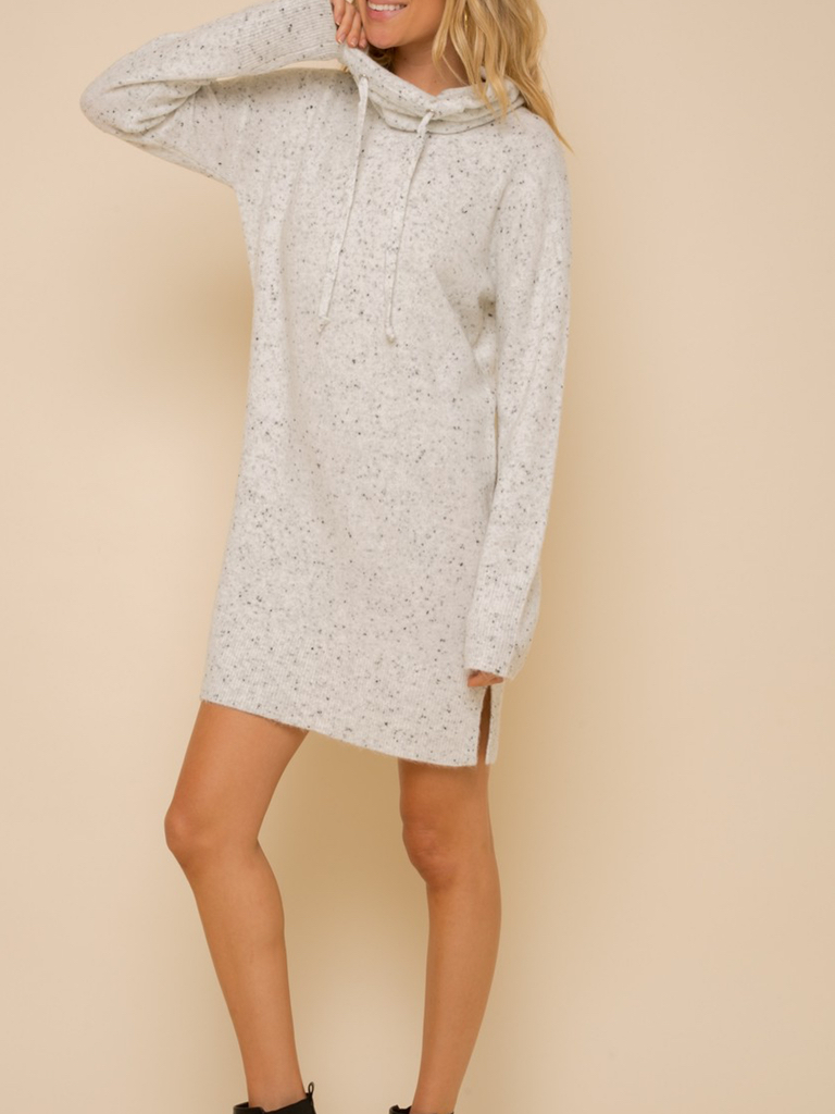 Hem & Thread Soft Spackle Sweater Dress