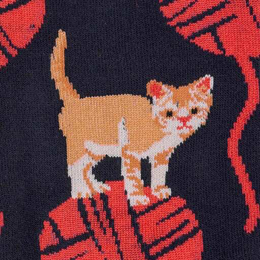 Kitten Knittin' Crew Socks